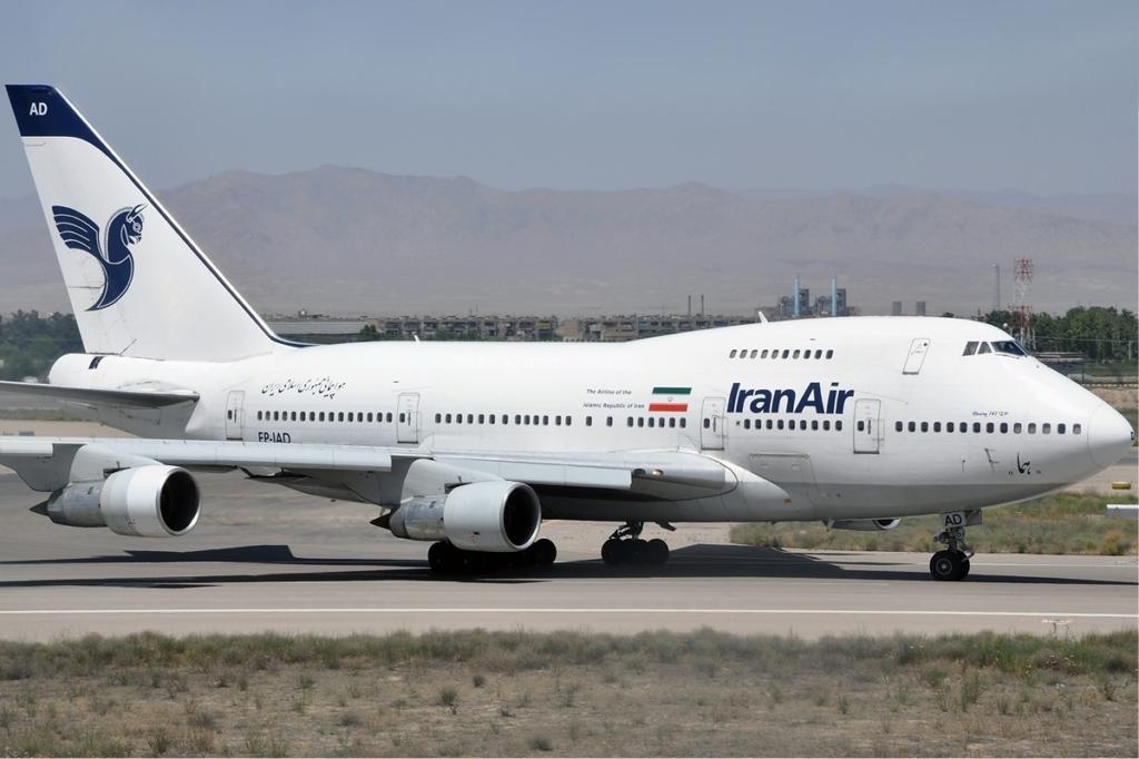 Boeing 747SP de Iran Air