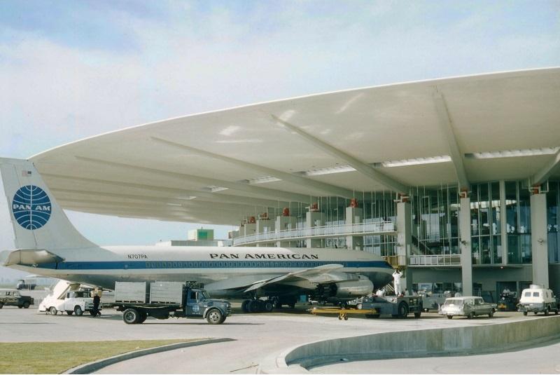 Noticias de aeropuertos. Terminal de la Pan Am en el JFK de Nueva York.