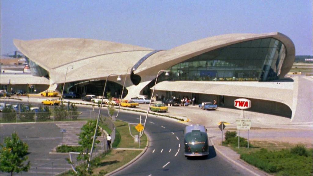 Noticias de aeropuertos. Terminal de la TWA en el JFK de Nueva York.