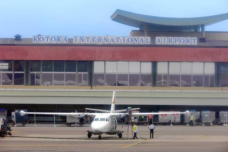 Aeropuerto internacional de Kotoka en Ghana