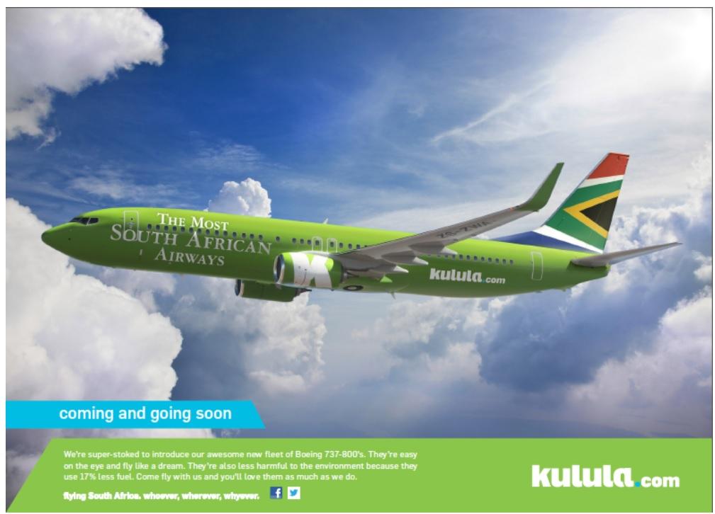 Campaña de marketing de Kulula