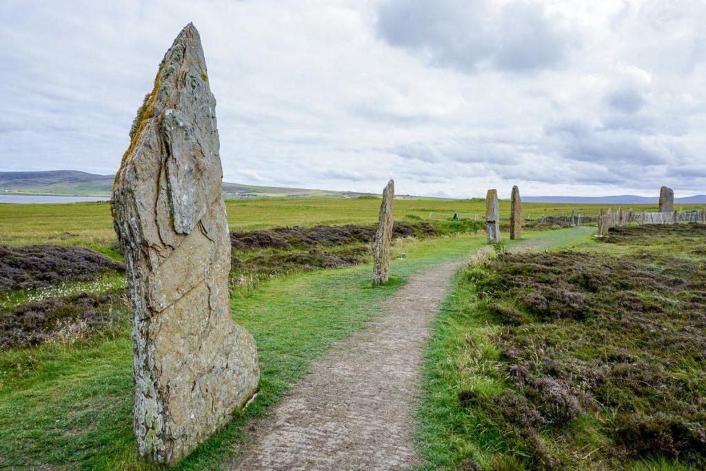 Estructuras del Neolítico en las Islas Orcadas