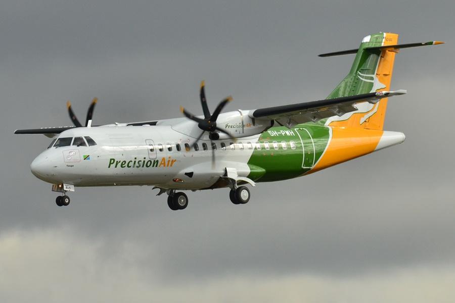 ATR 72 de la aerolínea Precision Air