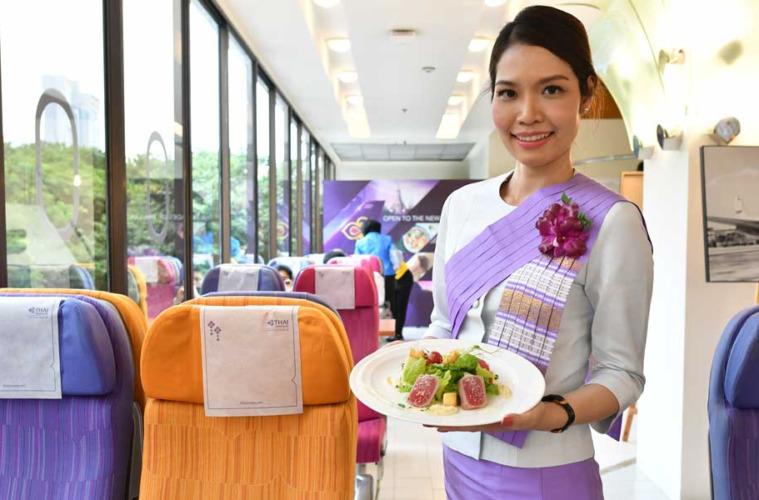 Nuevo restaurante de Thai Airways en Bangkok