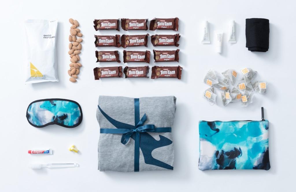 Amenity Kits vendidos por Qantas