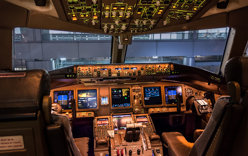 Simulador de un Boeing 777