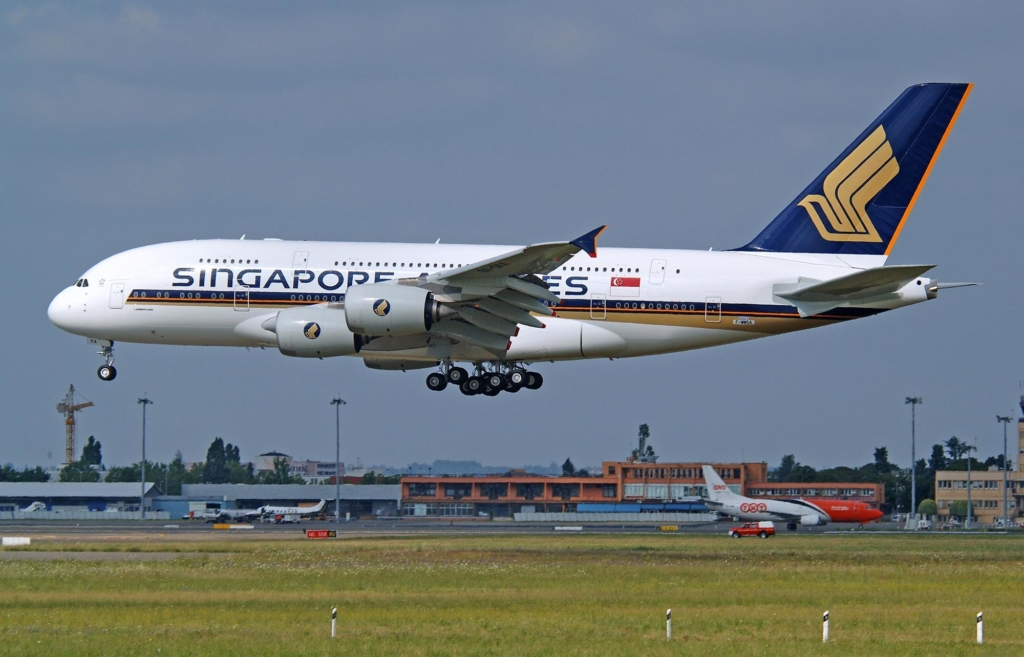 Airbus A380 de Singapore Airlines