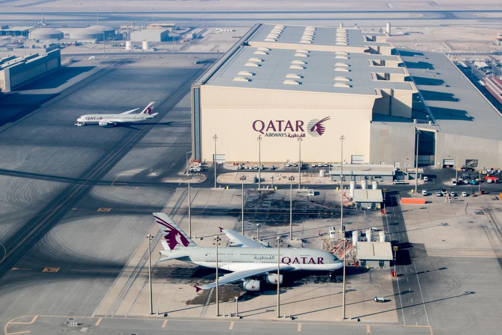 Noticias de aeropuertos. Noticias de aerolíneas. Aeropuerto de Hamad en Doha, Qatar.