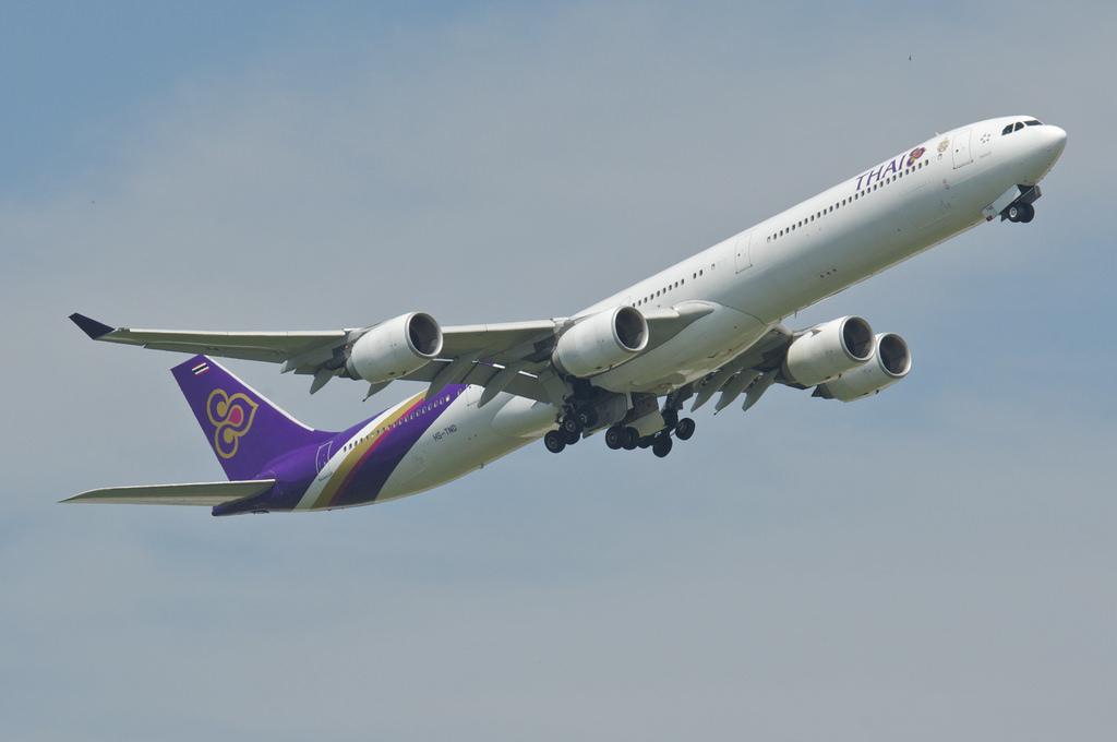 Noticias de aviones. Noticias de aerolíneas. Airbus A340-500 de Thai