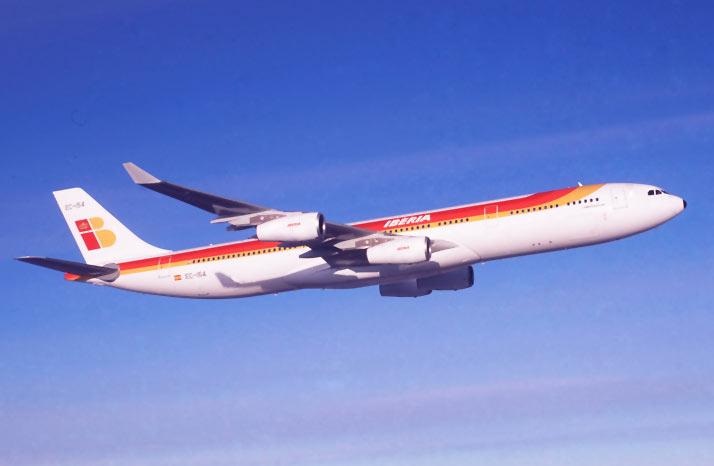 Noticias de aviones. Noticias de aerolíneas. Airbus A340-300