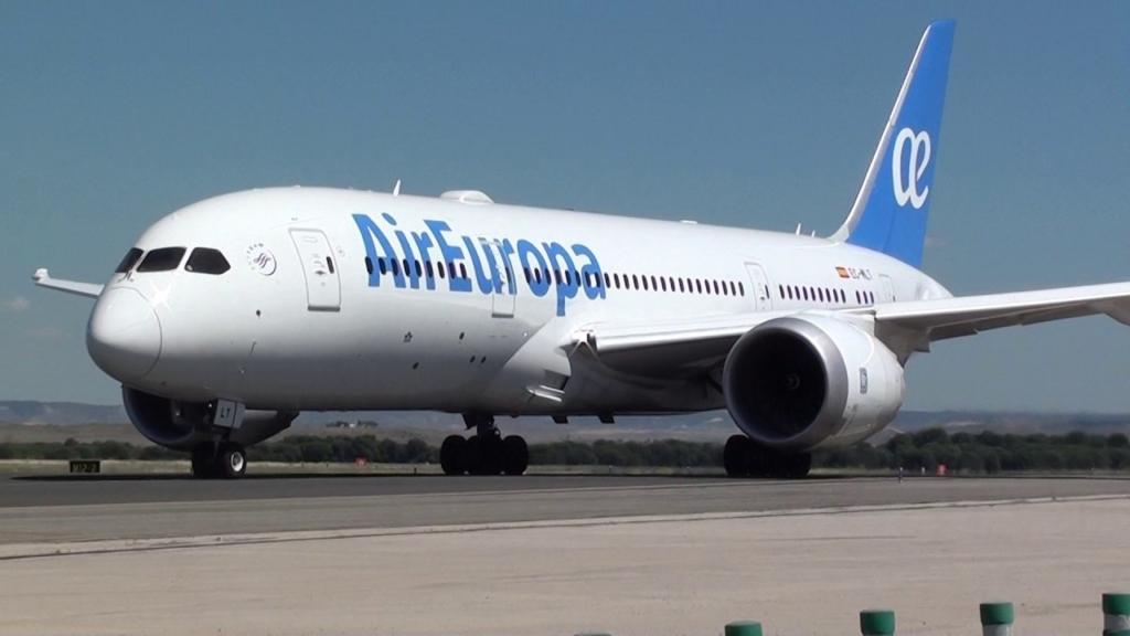 Noticias de aerolíneas. Noticias de turismo. Boeing 787 de Air Europa