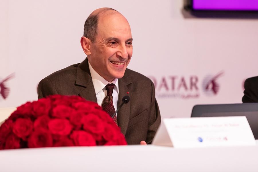 Noticias de aviones. Noticias de aerolíneas. CEO de Qatar Airways, Akbar Al Baker