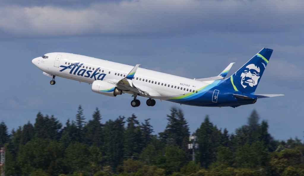 Noticias de aerolíneas. Noticias de compañías aéreas. Boeing 737 de Alaska Airlines