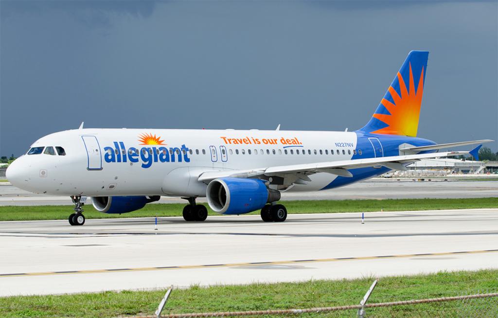Noticias de aerolíneas. Noticias de compañías aéreas. Airbus A320 de Allegiant