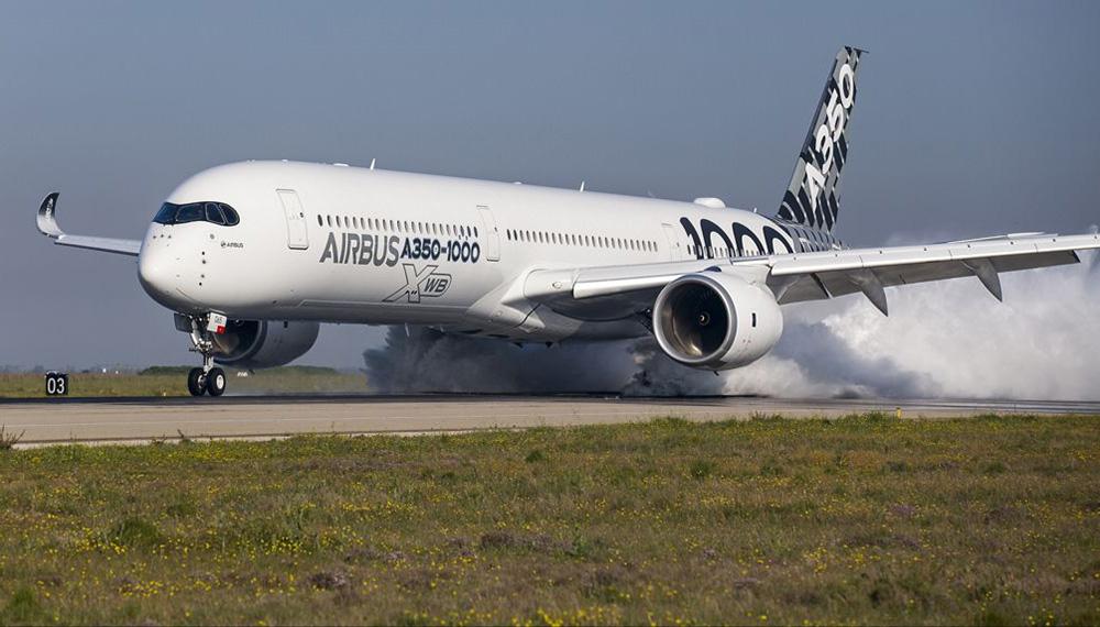 Noticias de aviones. Noticias de aerolíneas. Airbus A350-1000