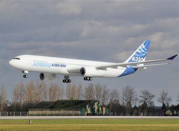 Noticias de aviones. Noticias de aerolíneas. Airbus A350-800
