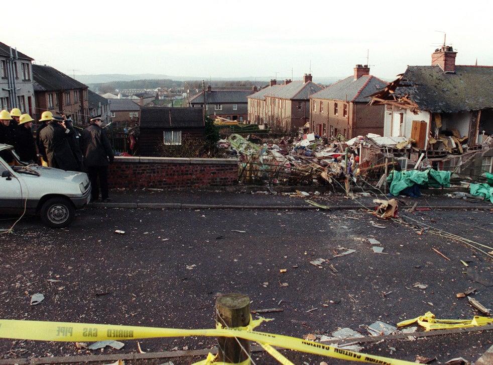 Noticias de aerolineas. Imagen de Lockerbie tras el atentado contra un Boeing 747 de Pan Am