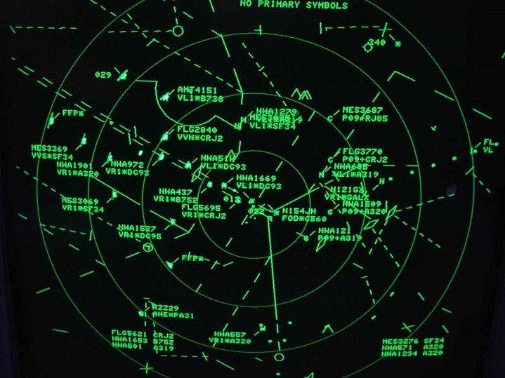 Noticias de control aéreo. Noticias de aeropuertos. Radar de control aéreo.