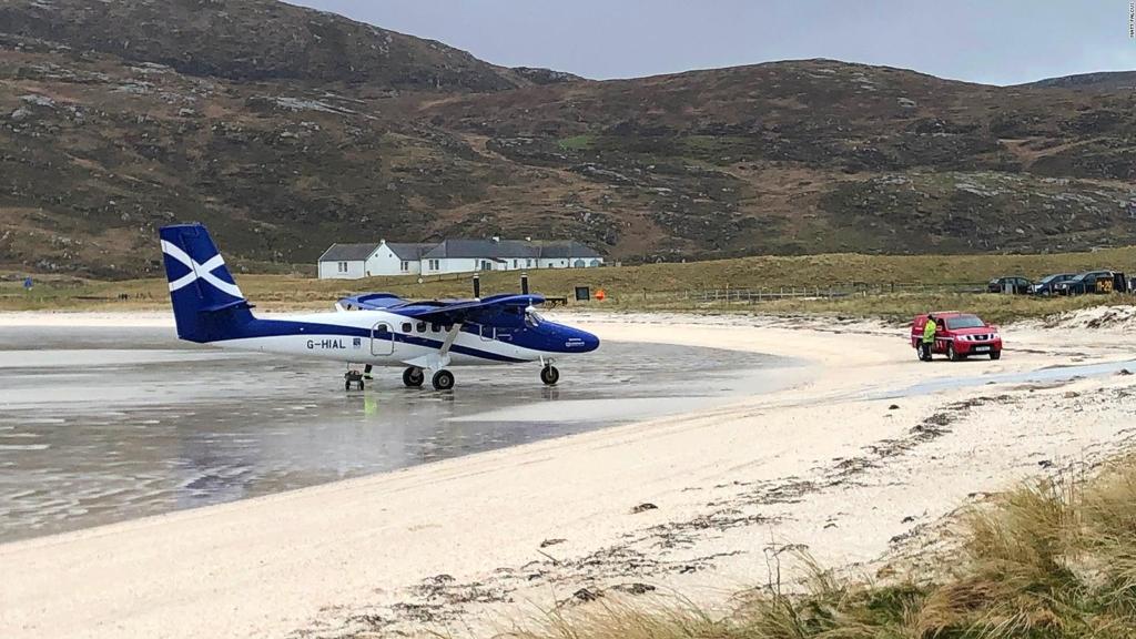 Noticias de aeropuertos. Aeropuerto de Barra, en Escocia.