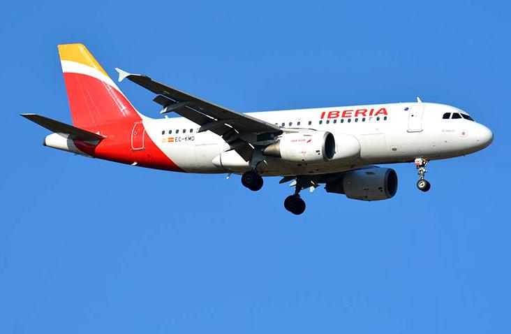 Noticias de aerolíneas. Noticias de aviones. Airbus A319 de Iberia