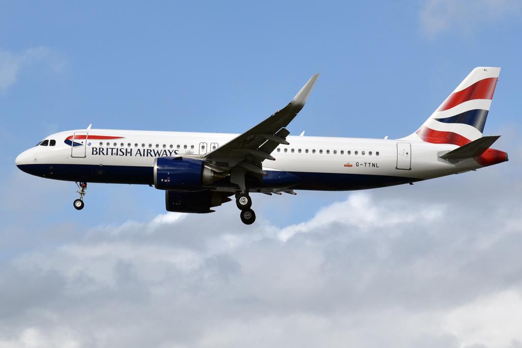 Noticias de aerolíneas. Noticias de aviones. Airbus A320 de British Airways
