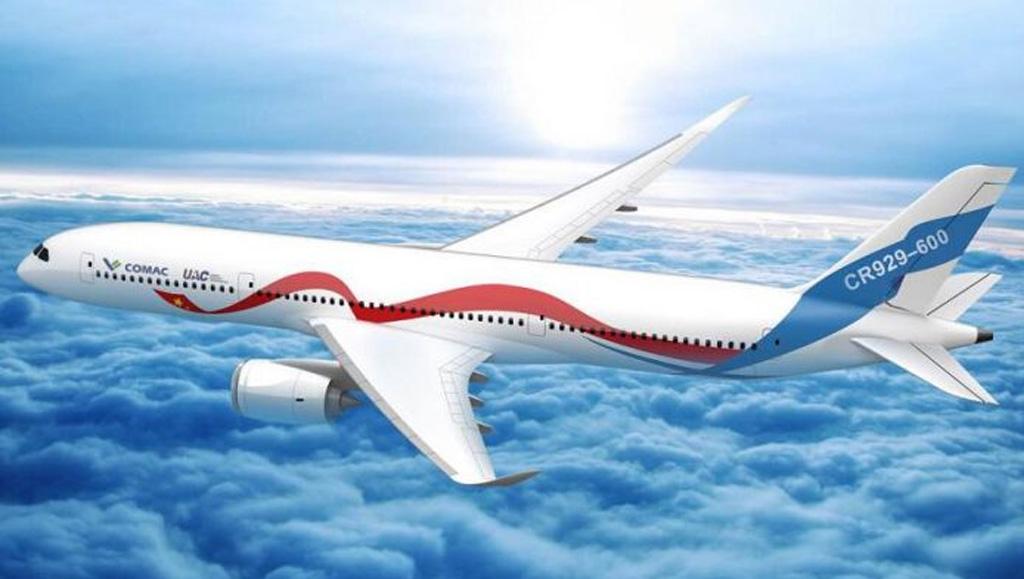Noticias de aviones. Noticias de aerolíneas. Prototipo del Craic CR929