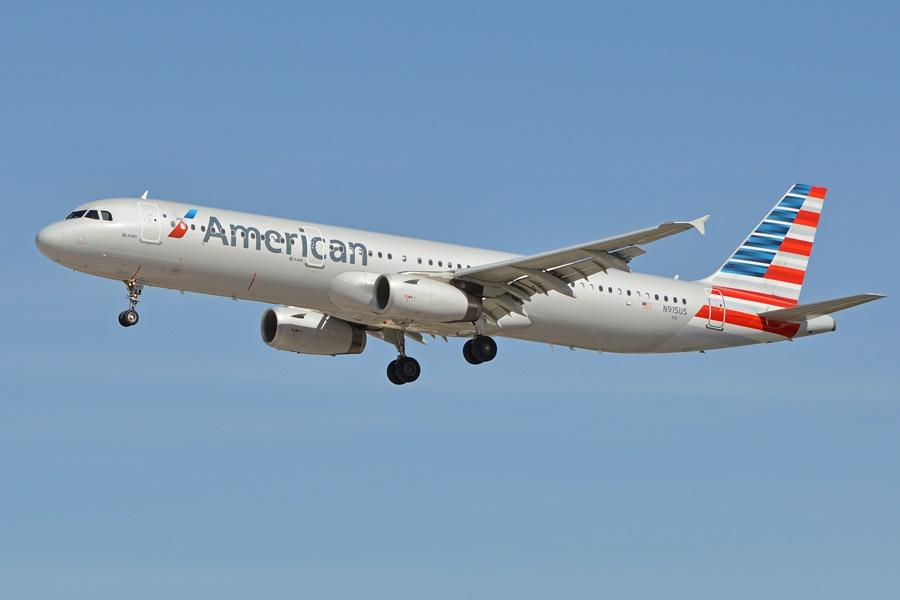 Noticias de aerolíneas. Noticias de aviones. Airbus A321 de American Airlines