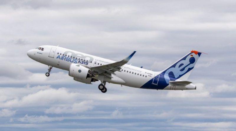 Noticias de aerolíneas. Noticias de aviones. Airbus A319neo