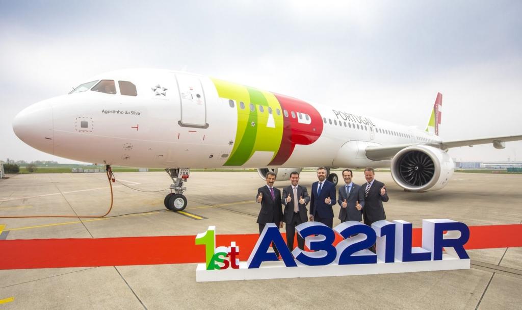 Noticias de aerolíneas. Noticias de aviones. Airbus A321LR de TAP