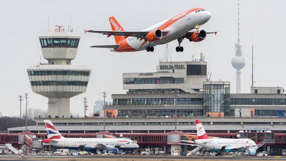 Noticias de aeropuertos. Noticias de aviones. Aeropuerto Berlín Tegel