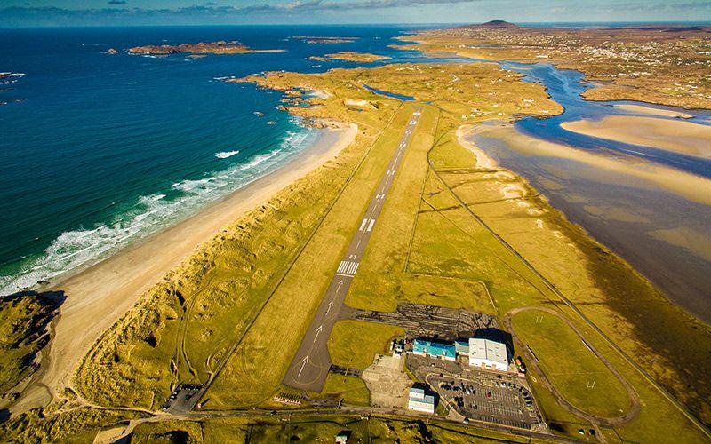 Noticias de aeropuertos. Aeropuerto de Donegal, en Irlanda