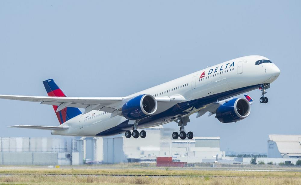 Noticias de aerolíneas. Noticias de compañías aéreas. Airbus A350 de Delta Airlines