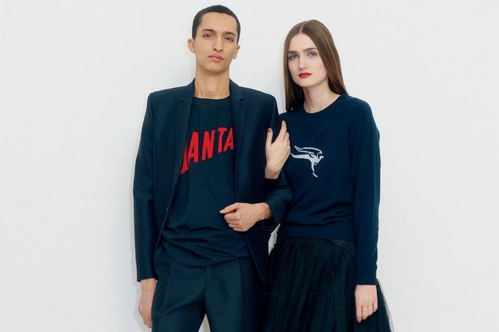 Noticias de aerolíneas. Línea de ropa de Qantas