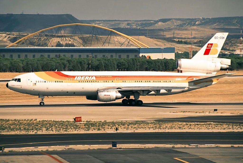 Noticias de aviones. Noticias de aerolíneas. Lockheed 1011 de Iberia