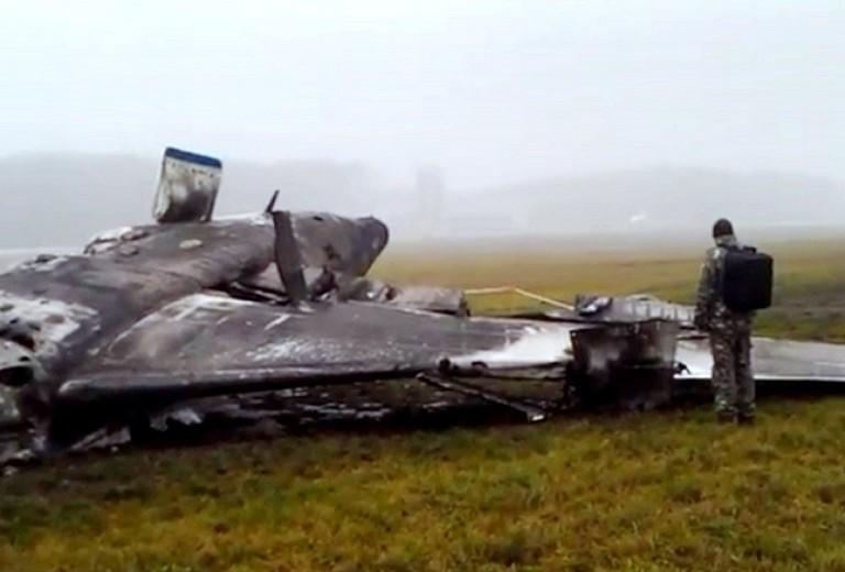 Noticias de control aéreo. Accidente Falcon 50 en Moscú en 2014
