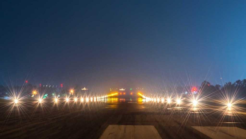 Noticias de control aéreo. Señales luminosas del sistema SMGCS