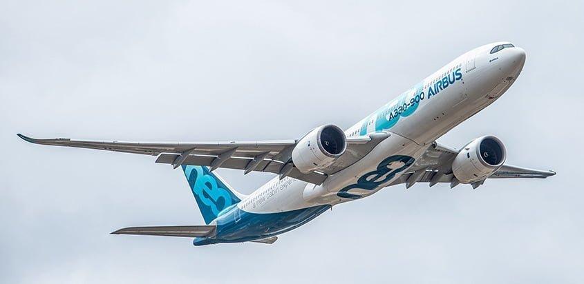 Noticias de aviones. Noticias de aerolíneas. Airbus A330-900neo