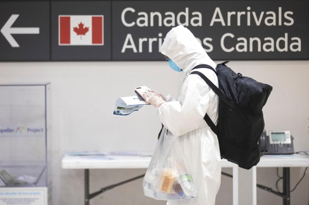 Pruebas PCR en el aeropuerto internacional de Toronto. Noticias de aerolíneas. Noticias de aeropuertos.