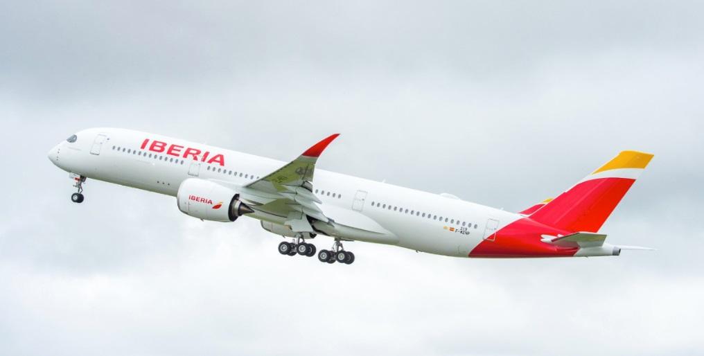 Noticias de aviones. Noticias de aerolíneas. Airbus A350-900 de Iberia