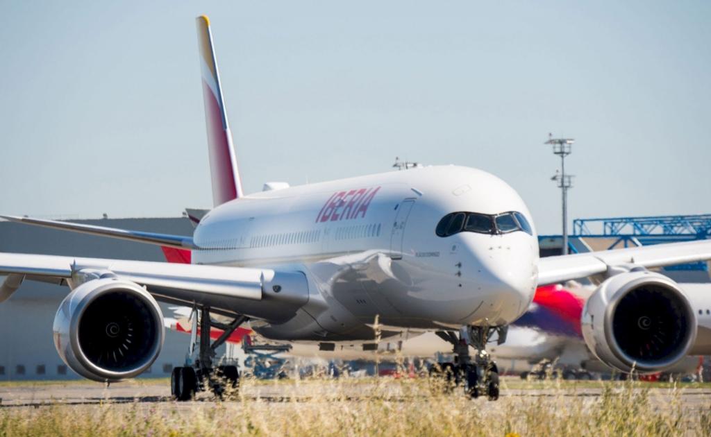 Noticias de aerolíneas. Airbus A350 de Iberia