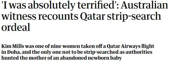 Noticias de aeropuertos. Noticias de aerolíneas. Testimonio de afectada en el aeropuerto de Doha, Qatar.