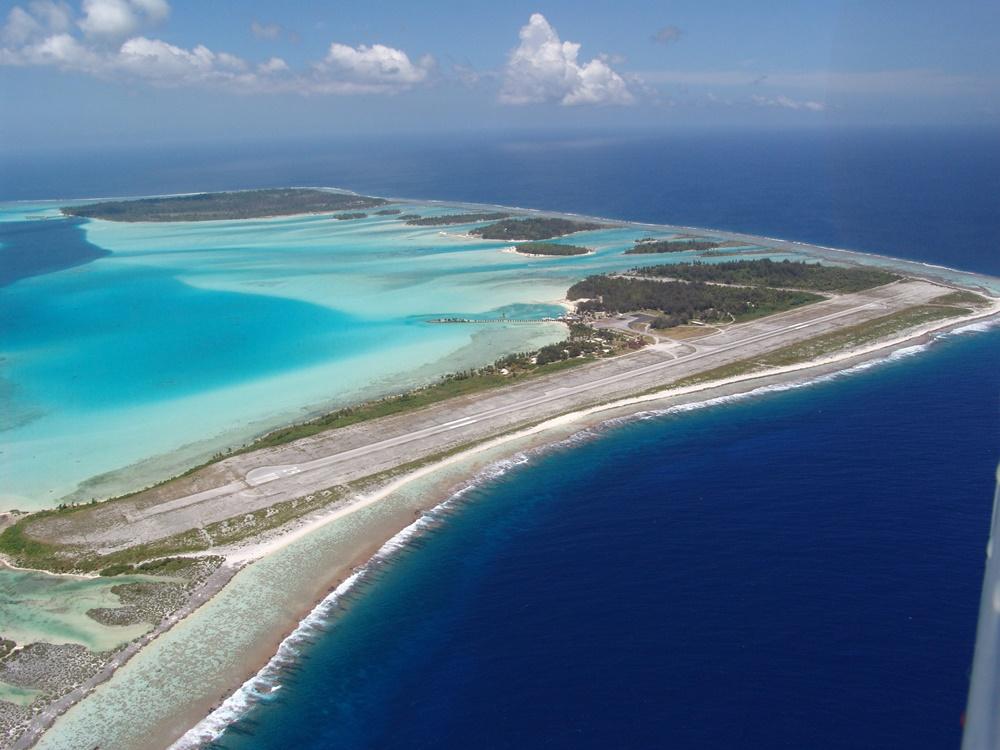 Noticias de aeropuertos. Aeropuerto Motu Mute en Bora Bora