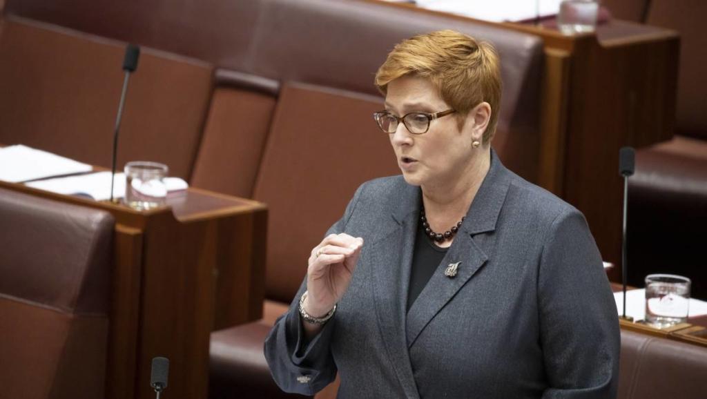 Noticias de aeropuertos. Noticias de aerolíneas. Ministra de Asuntos Exteriores de Australia Marise Payne