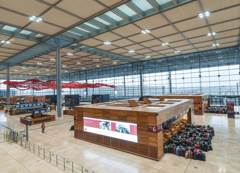 Noticias de aeropuertos. Noticias de aviones. Aeropuerto Willy Brandt en Berlín.