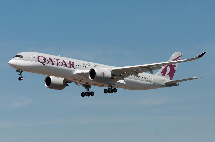 Noticias de aviones. Noticias de aerolíneas. Airbus A350 de Qatar Airways