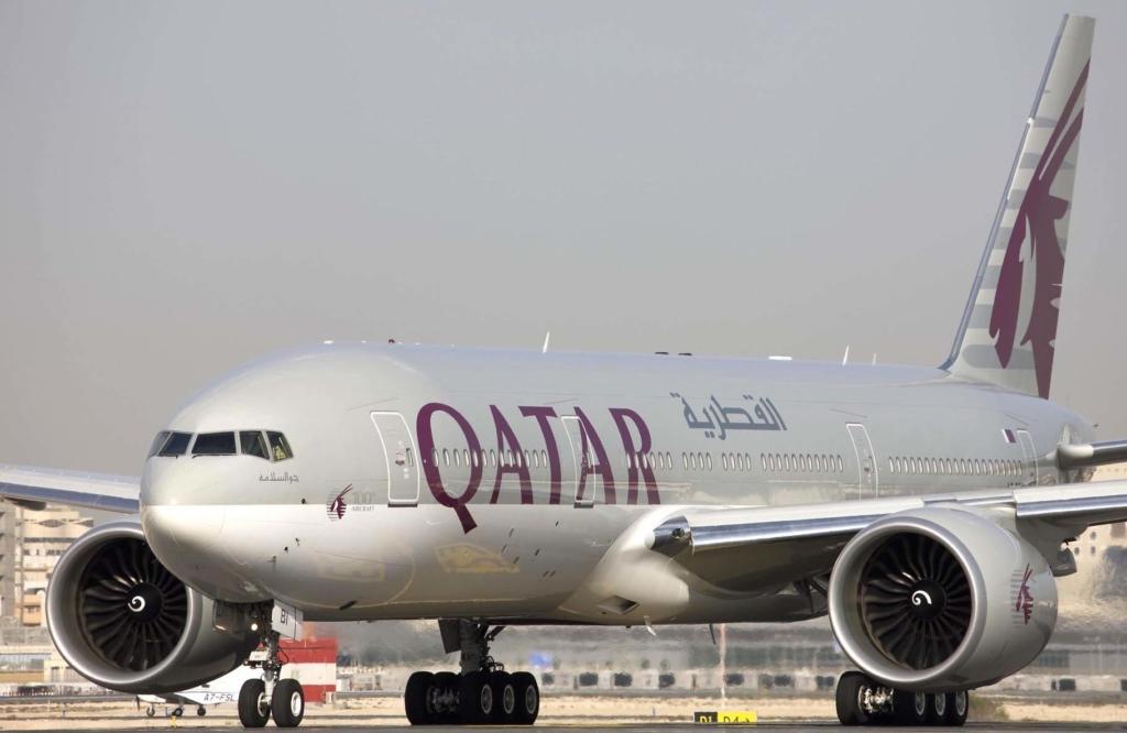 Noticias de aeropuertos. Noticias de aerolíneas. Boeing 777 de Qatar Airways