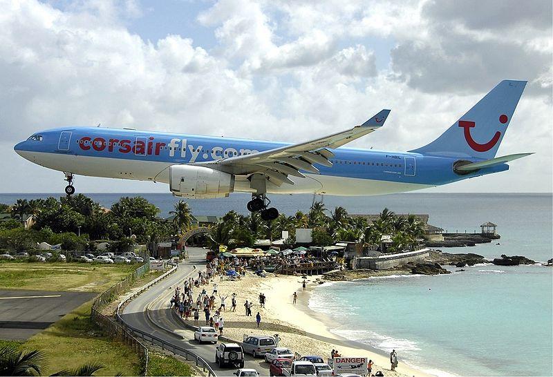 Noticias de aeropuertos. Aeropuerto Internacional Princess Juliana en St. Maarten