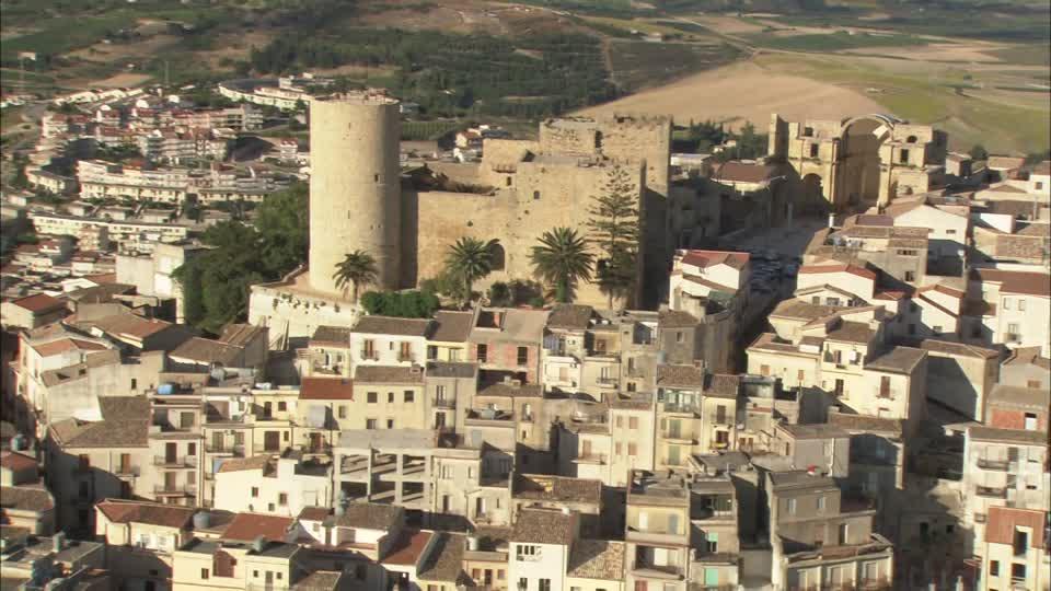 Noticias de turismo. Salemi, pueblo ubicado al oeste de la isla de Sicilia.