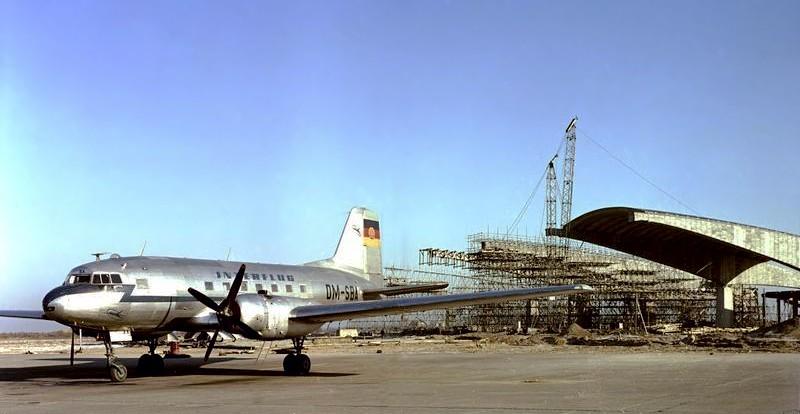 Noticias de aeropuertos. Noticias de aviones. Aeropuerto de Schönefeld tras la II Guerra Mundial