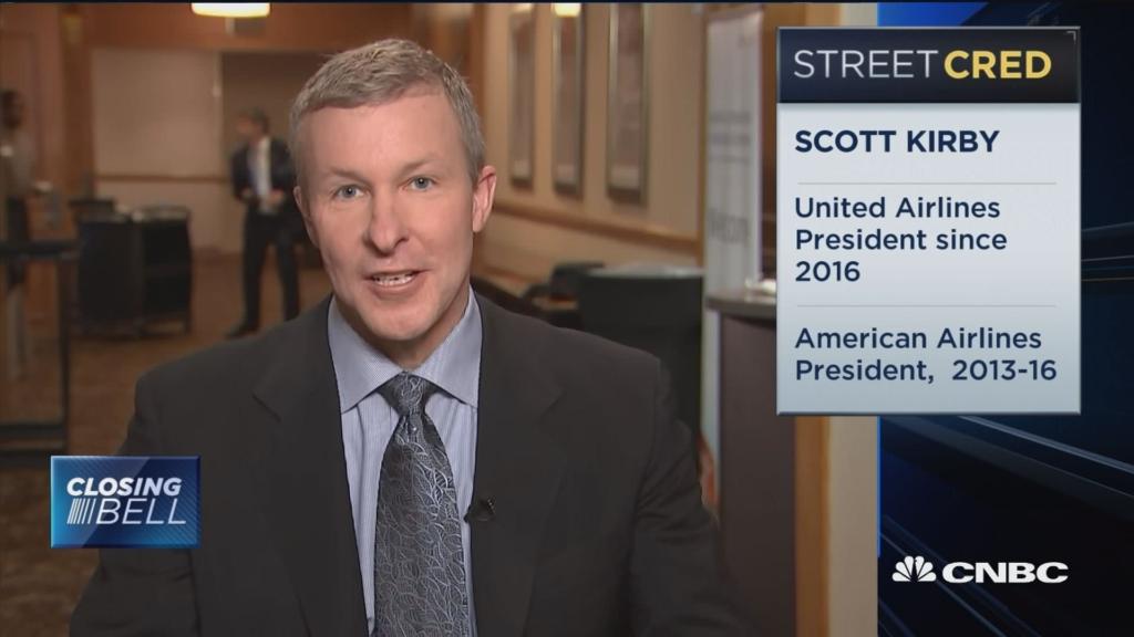 Noticias de aerolíneas. Scott Kirby, CEO de United Airlines